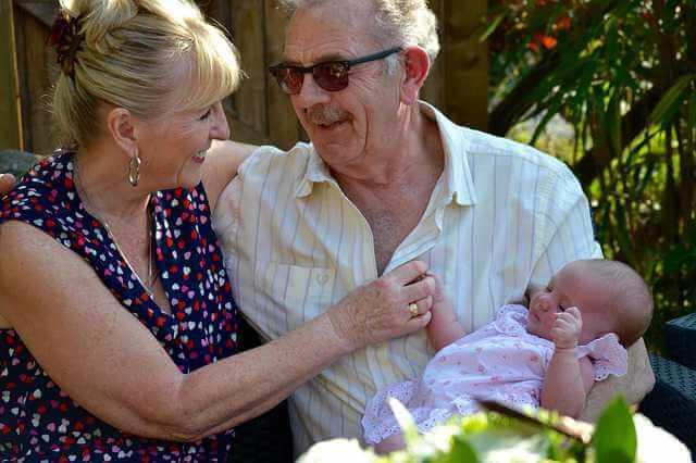 алименты с бабушки и дедушки, бабушка с дедушкой и внуком