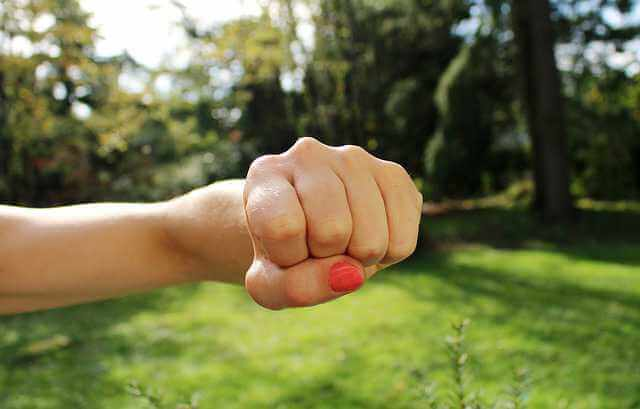 Возражение на исковое заявление о взыскании алиментов, рука кулак