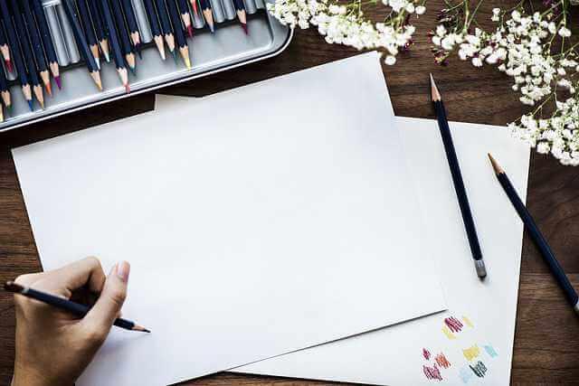 как восстановить исполнительный лист по алиментам, листок с карандашом