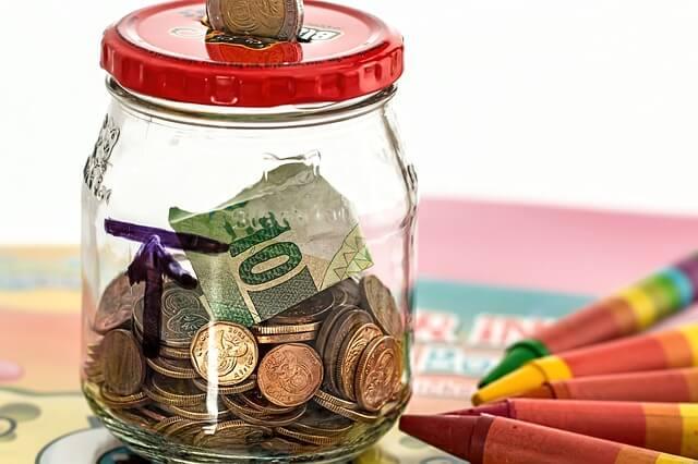 фонд капитального ремонта, копилка из стеклянной банки