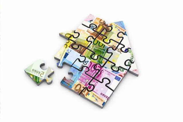 Что такое ипотека на жилье, пазл из дома
