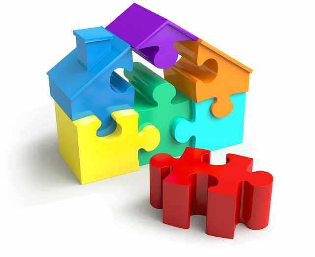 Что выгоднее ипотека или аренда, пазлы из дома
