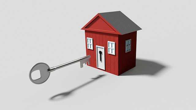 Квартира в ипотеку у родственников, домик и ключ