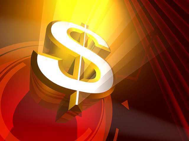 Как снизить процентную ставку по ипотеке, значок доллара на светящемся фоне