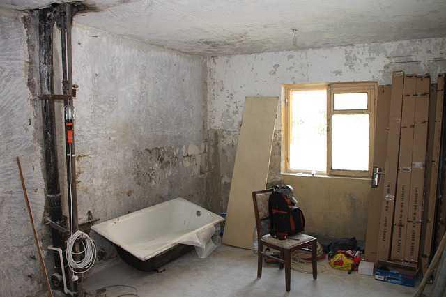 перепланировка в ипотечной квартире, ремонт и разруха в квартире