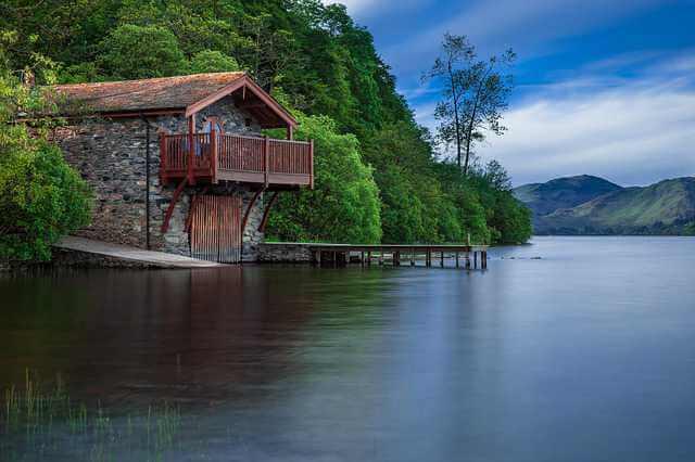 Целевой ипотечный кредит, дом на берегу озера находящийся над водой