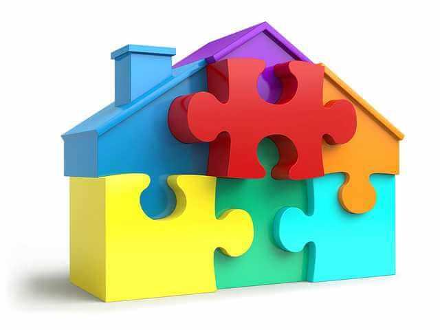 Требования для ипотеки , домик из пазлов