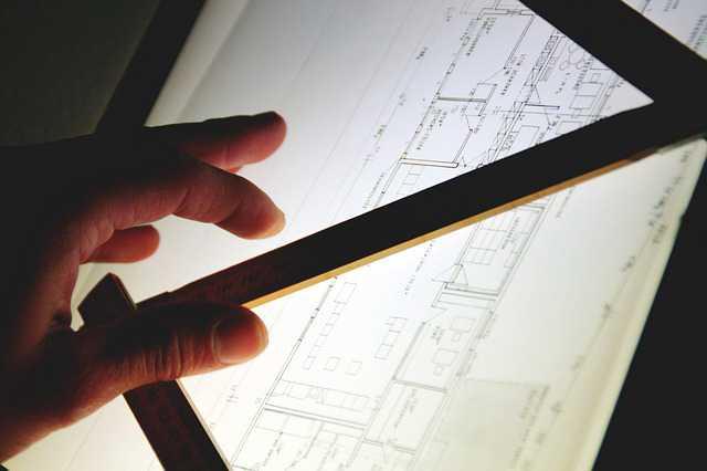 Перепланировка ипотечной квартиры от Сбербанка,чертеж на чертежном планшете