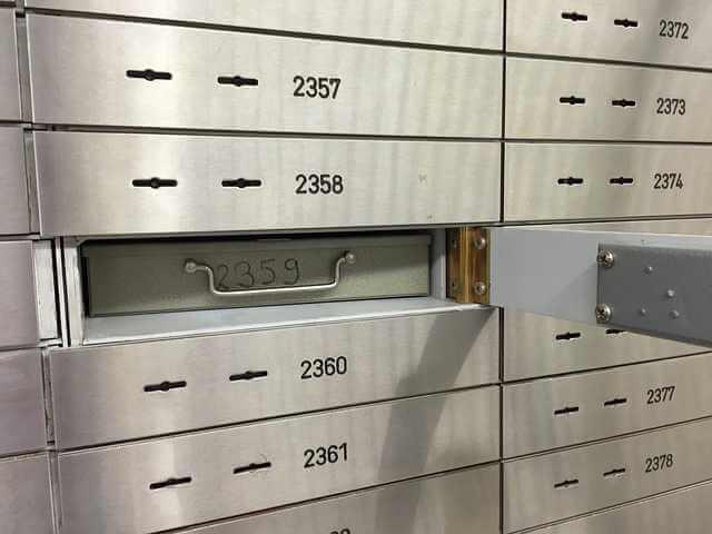 Стоимость ячейки в Сбербанке при продаже квартиры, ячейка в банке открытая под разными номерами