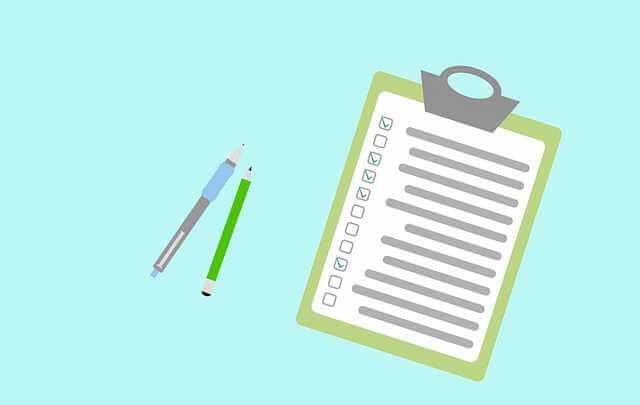 Анкета на ипотеку ВТБ 24, бланк анкеты и ручка с карандашом