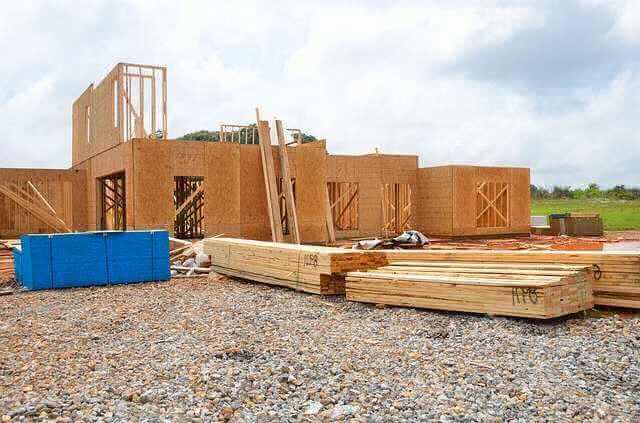 Ипотека на строительство дома в ВТБ 24, каркасный недостроенный дом с материалом