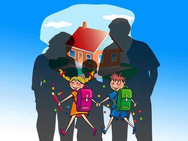 Россельхозбанк семейная ипотека,семья,дом и дети идут в школу