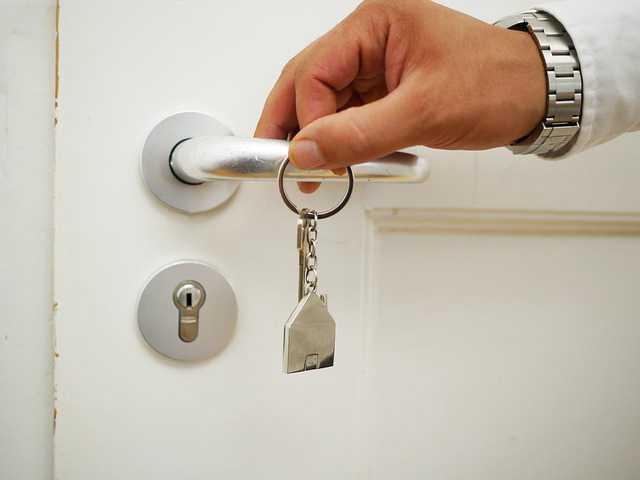 Альфа-Банк ипотека с первоначальным взносом, дверная ручка с ключами