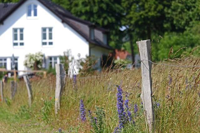 Оформить долю земельного участка в собственность, забор и участок земли с домом