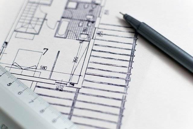 Продление разрешения на строительство, проект дома на листке